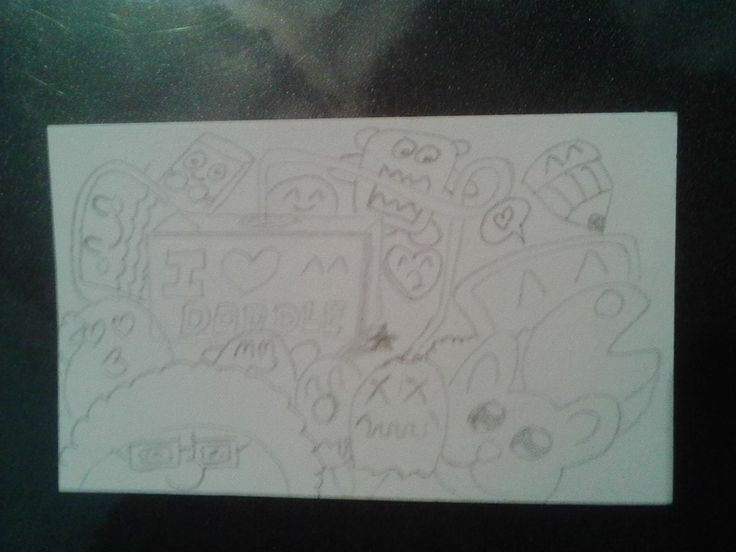 Boceto de un doodle