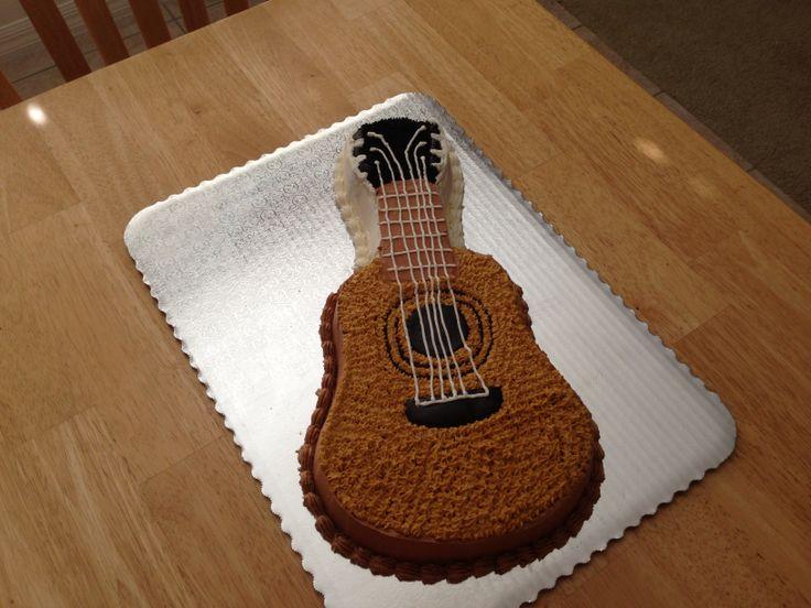 guitar shaped cake cakes and other desserts pinterest. Black Bedroom Furniture Sets. Home Design Ideas
