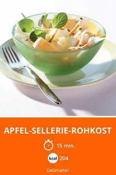 Apfel-Sellerie-Rohkost | Kalorien: 204 Kcal - Zeit: 15 Min. | http://eatsmarter.de/rezepte/apfel-sellerie-rohkost