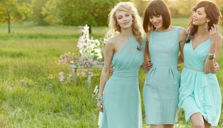 Bridesmaids Dress Options