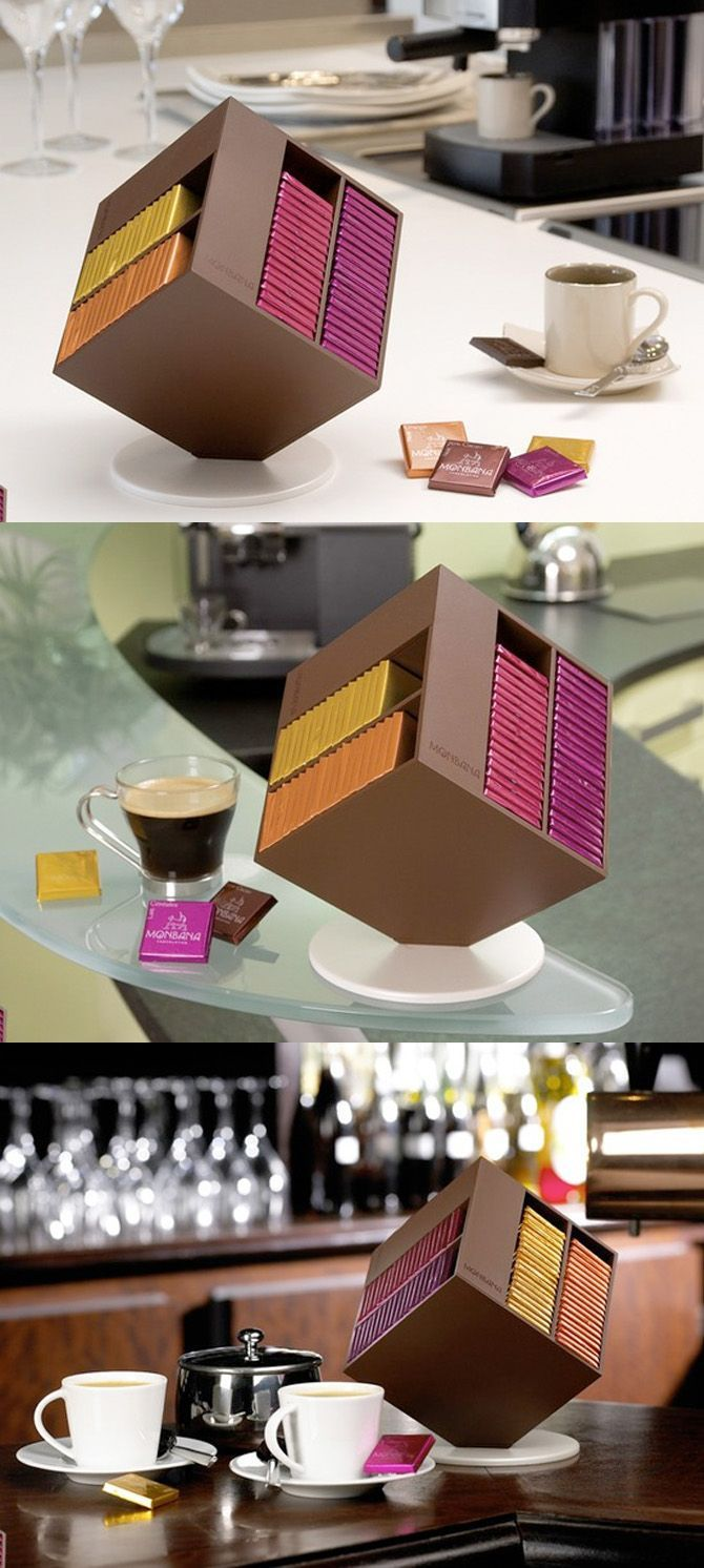 Chocolate box design and packaging. Interesting.