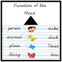 Function of the Noun