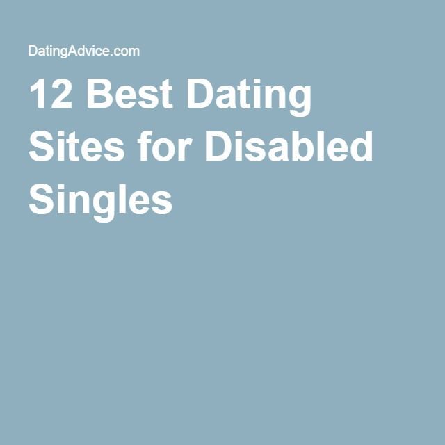 Disabled dating sites