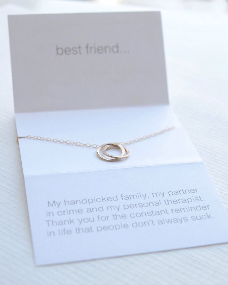 Best friend necklace - lighthearted friendship necklace - 1293 by OliveYewJewels on Etsy https://www.etsy.com/listing/206400956/best-friend-necklace-lighthearted