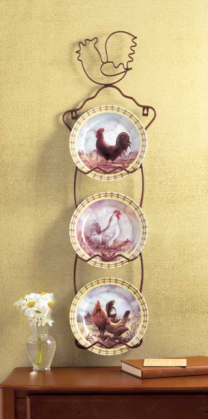 decorative plates, cute: Chickens Cock A Doodle Doooo, Interesting Chickens, Chicken Chick, Things Chicken, Chicken Collection, Chicken Stuff, Rooster