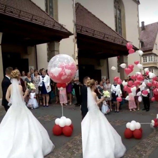 Hochzeitsuberraschung Fur Das Brautpaar Hochzeitsuberraschungen Uberraschung Hochzeit Standesamtliche Hochzeit