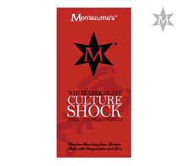 Tableta de Ciocolata Culture Shock #montezumas #ciocolata #ciocolataalba #chilli #ghimbir #dulciuri #cadouri #ideicadouri