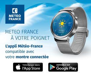 L'application Météo-France est maintenant compatible avec votre montre Android