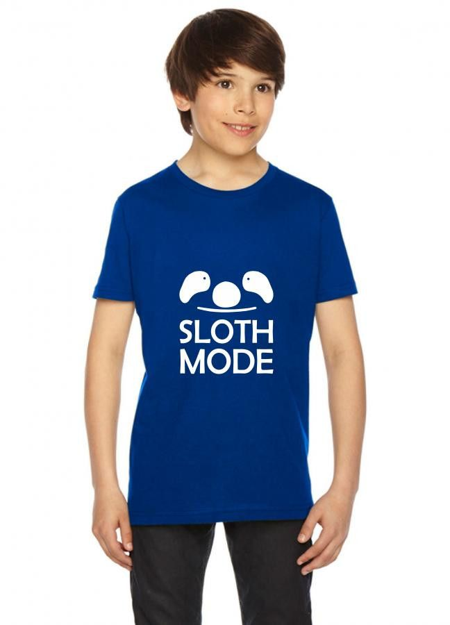 sloth mode funny Youth Tee