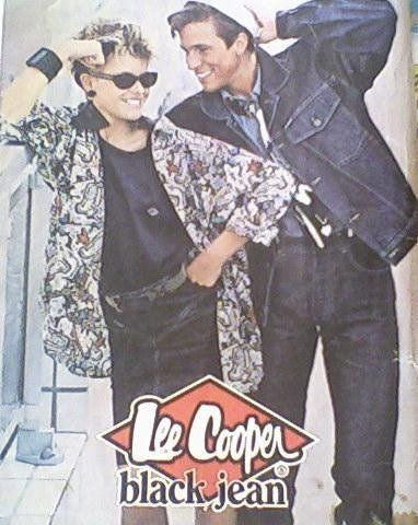 Lee cooper jeans. I had one in blue and it was really durable.