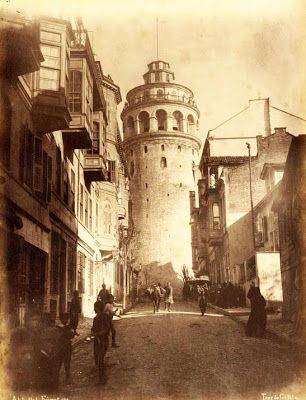 burada istanbul var: Simge Eserler: Galata Kulesi