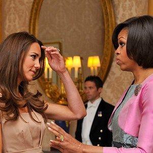 Kate Middleton And Michelle Obama Share Beauty Tips On The Regular #katemiddleton #beautytips #beautysecrets #elleau