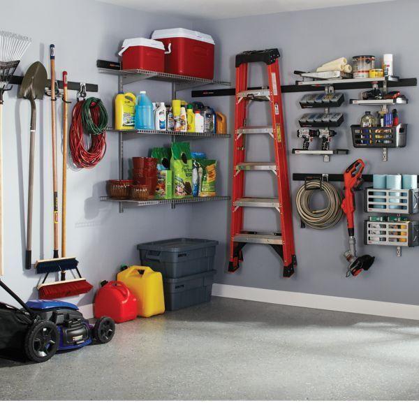 AmazonSmile: Rubbermaid FastTrack Garage Storage System Tool Hanging Kit (1784452): Home & Kitchen