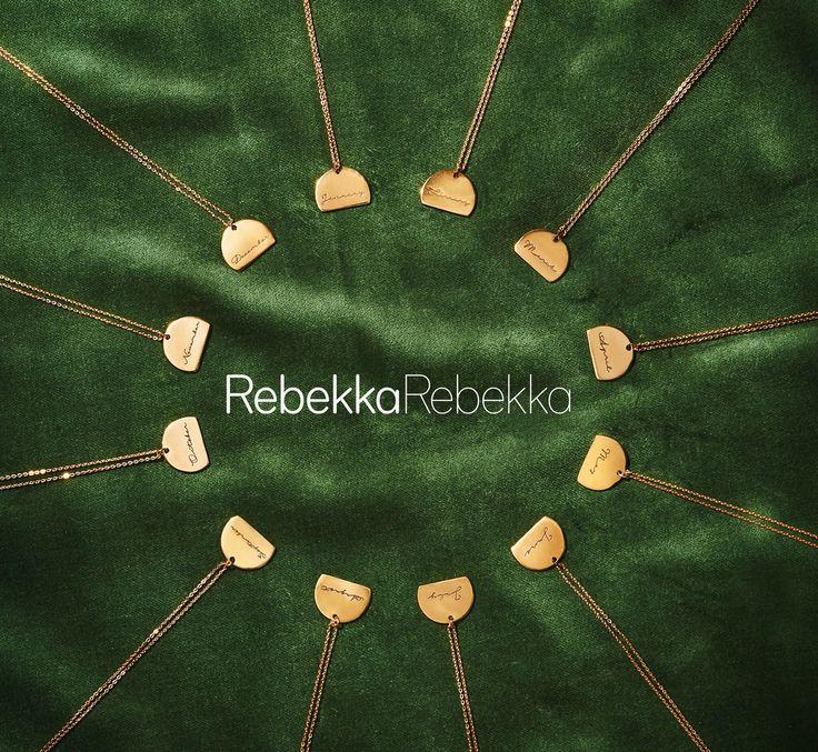 Month necklaces - RebekkaRebekka jewelry