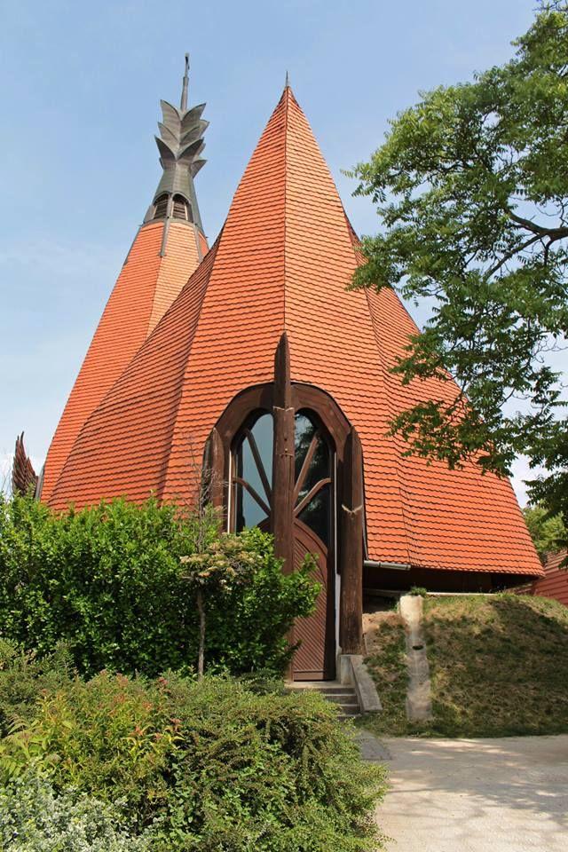 Siófok  -  Hungary Makovecz templom photo:  Márta  Beledi