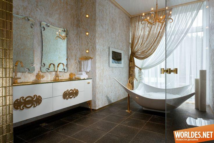 Роскошные ванные комнаты фото 30
