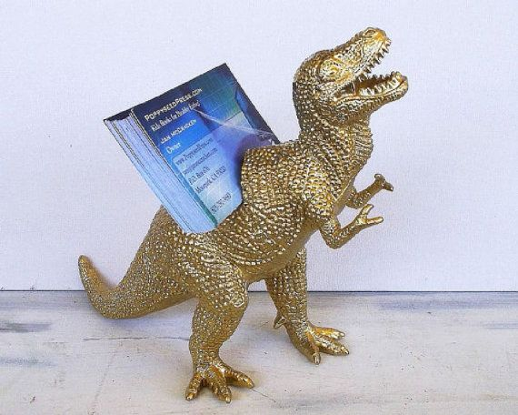 When you have short little arms, you need to get creative. Only $25 for a business card holder sure to impress.