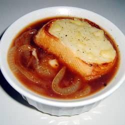 Franse Uien Soep (Slow-cooker) recept | Smulweb.nl