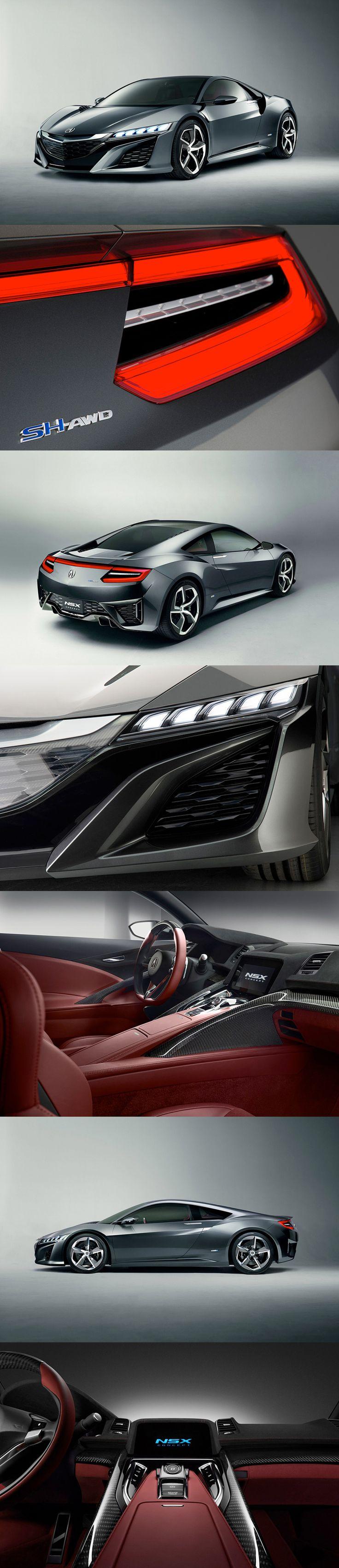 2015 acura NSX hybrid concept