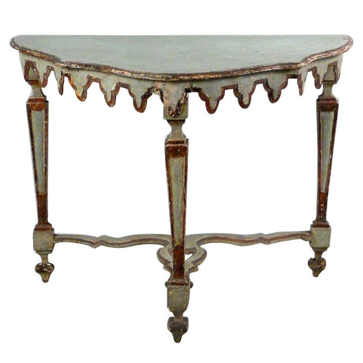 Excellent 18th Century Venetian Italian Console Table Part 25