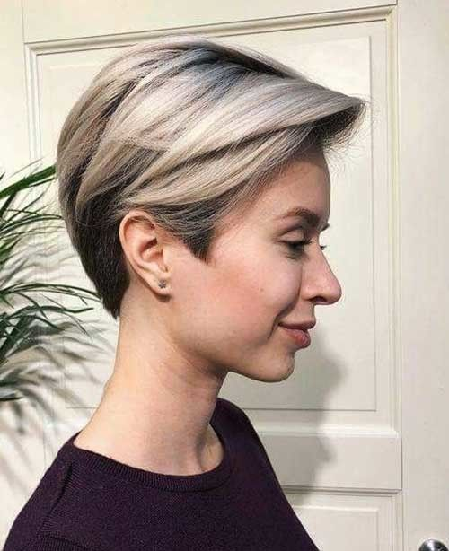 Super-Straight-Fine-Hair Best Short Haircuts for 2018-2019