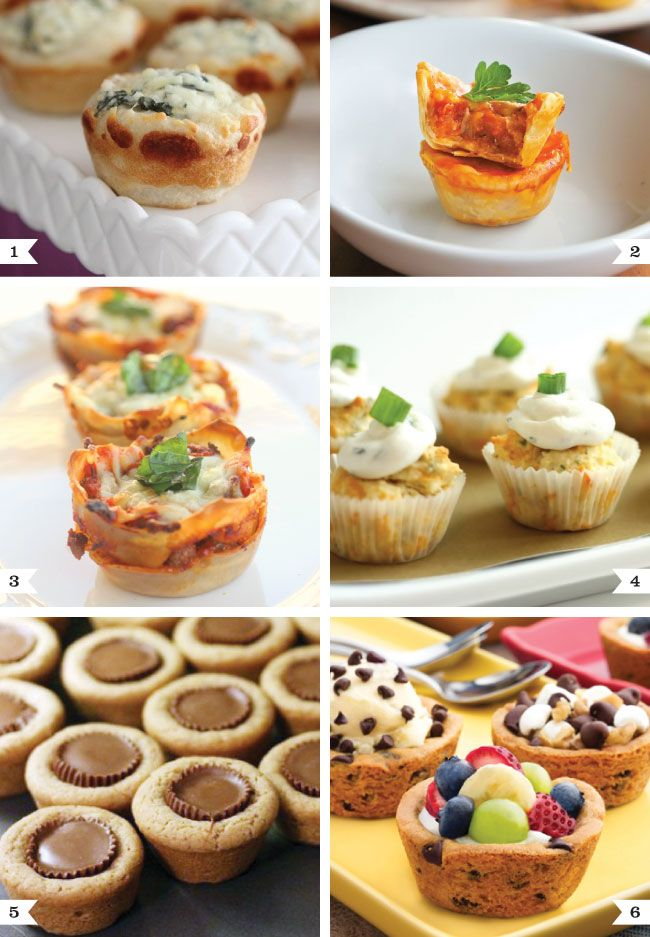 party food ideas: Breads Bowls, Muffins Pan Recipes, Cookies Cups, Minis Muffins, Fingers Food, Spinach Dips, Food Ideas, Muffins Tins, Parties Food