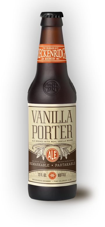 Vanilla Porter Colorado Craft Beer.  Not much Vanilla flavor or smell..