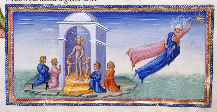 Heaven of Venus - Dante Alighieri Title Divina Commedia Origin Italy, N. (Tuscany, Siena?) Date between 1444 and c. 1450 Language Italian http://www.bl.uk/catalogues/illuminatedmanuscripts/record.asp?MSID=6468&CollID=58&NStart=36