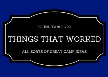 In this round table I asked camp professionals to share unique things they did at camp that really worked well. There are a lot of neat ideas in this compilation that you won't see or hear ab…