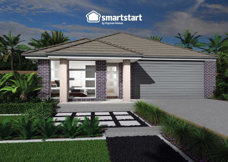 Seville with Keira Facade   Settle for nothing less than the best, and the best is the Keira facade. Create your own #streetappeal with this stylish home addition. #smartstarthomes #facadedesign #streetappealaustralia