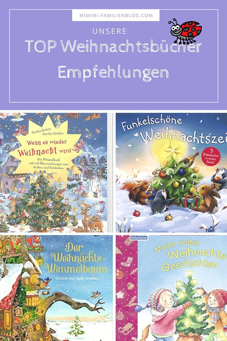 Wir zeigen euch unsere Empfehlung für Weihnachtsbücher für Kinder. Buch / Bücher für Kinder / Kleinkinder an Weihnachten. Tolle Geschichten auch mit Wimmelbilder / Wimmelbücher zum vorlesen oder suchen und finden