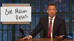 Seth Meyers perfect suggestion to trick Trump into resigning (VIDEO)