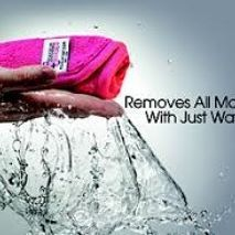 Yes its true just water!! Removing 100% of your makeup is easy with The Makeup Eraser.