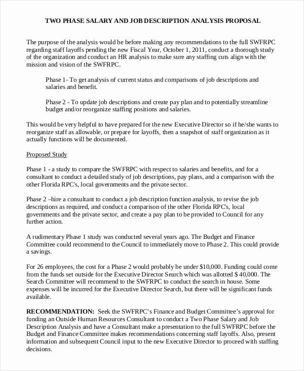New Position Proposal Template Inspirational Job Proposal Template 18 Free Word Pdf Document In 2021 Proposal Templates Proposal Writing Event Proposal Template