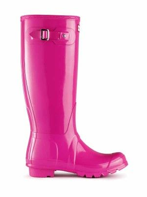 Gloss Rain Boots   Original Tall Gloss   Hunter Boot US Size 7