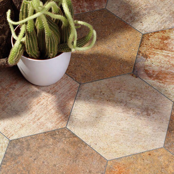 Mejores 18 im genes de azulejos hexagonales en pinterest for Pasta para ceramica gres