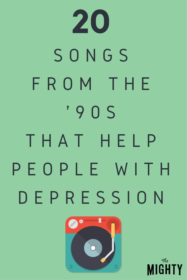 20 Songs From the '90s That Help People With Depression | The Mighty
