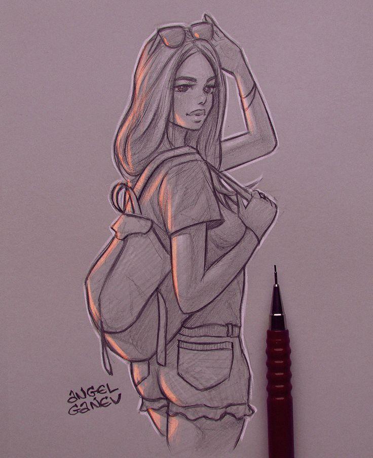 Ray Ban – Day # 292 von AngelGanev –  – #zeichnungen