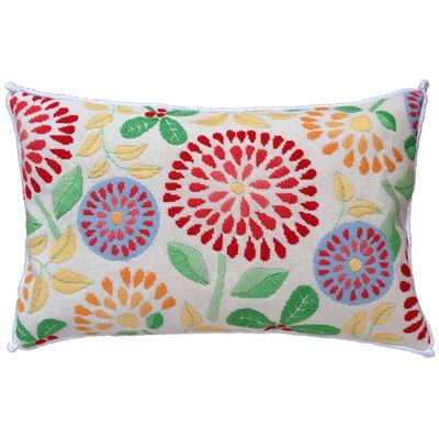 Flower Power needlepoint kit from The Stitchsmith