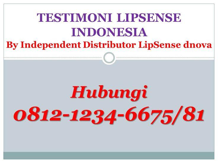 Testimoni LipSense Indonesia by Ibu Ica PONTIANAK #TestimoniLipsense, #TestimoniHargaLipsense, #TestimoniLipsenseIndonesia, #TestimoniLipsenseDistributor, #TestimoniLipsensePrice, #TestimoniLipsenseColorChart, #TestimoniLipsenseReview, #TestimoniLipsenseHeartbreaker, #TestimoniLipsenseSenegence, #TestimoniHargaLipsense2016, #TestimoniHargaLipsenseSenegence, #TestimoniJualLipstickLipsense, #TestimoniJualLipsenseSenegence, #TestimoniHargaLipstikLipsense