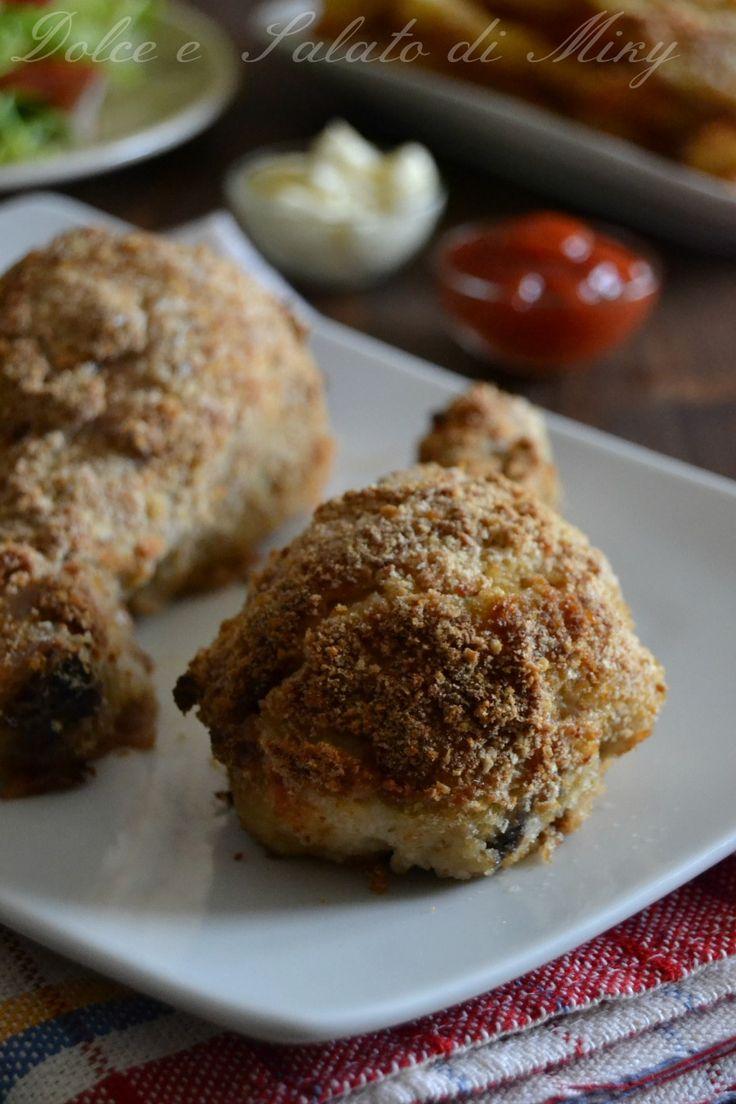 ricetta cosce di pollo impanate al forno| Dolce e Salato di Miky