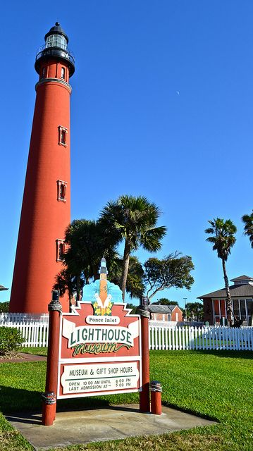 One of the items on my bucket list was to climb up a light house. So what better place than to take the kids than to the second tallest Lighthouse in the US, and the tallest in Florida? Follow us for an adventure at the Ponce Inlet Lighthouse, one of the top attractions to do in Daytona. http://travelexperta.com/2014/01/ponce-inlet-lighthouse-floridas-tallest-lighthouse.html #daytona #florida #ponceinletlighthouse