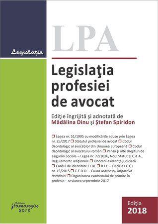Legislatia profesiei de avocat