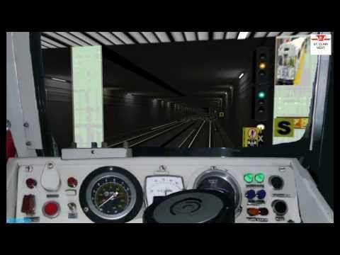 TTC subway simulator [HD] OpenBVE Virtual TTC Academy February, 2014 Run