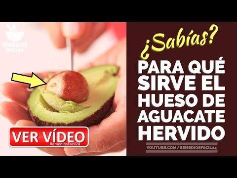 PARA QUE SIRVE EL HUESO DE AGUACATE HERVIDO - BENEFICIOS DE LA PEPA DE AGUACATE - YouTube