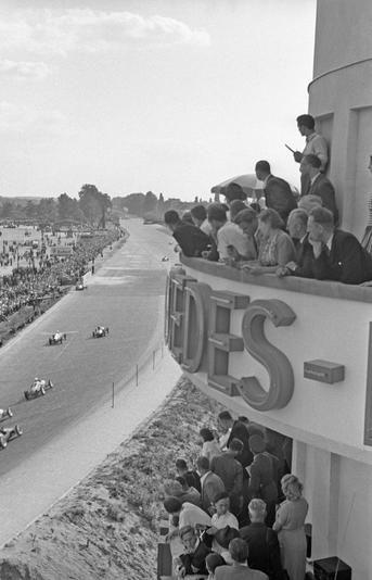 1951 Berlin-Avus Turm