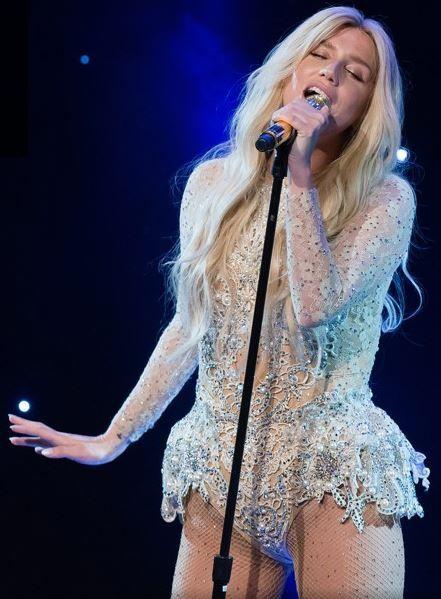 Kesha Performing at the 9th Annual Delete Blood Cancer Gala on Her Warrior Tour♥ #Kesha_Rose_Sebert #Singer #Celebrities
