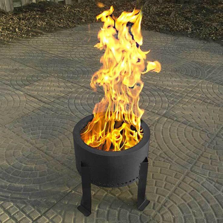 Flame Genie Terrassengarten Garten Ideen