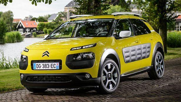 Citroën C4 Cactus - a great city car. Not boring at all. #citroen #cactus