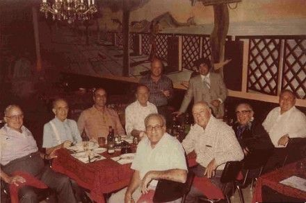 All of the bosses and capos of the Chicago Outfit in the 70's.